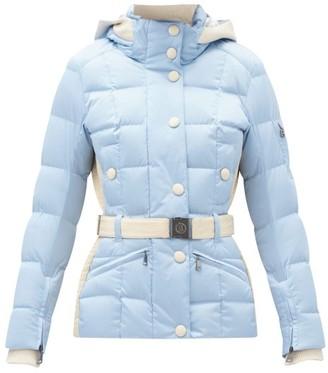 Bogner Gisa Hooded Quilted-down Shell Ski Jacket - Light Blue