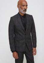 Dries Van Noten Dark Brown Berger Suit Jacket