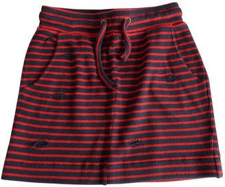 Zoe Karssen Red Cotton Skirt for Women