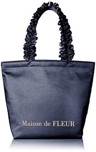 33775b80d8e7 Maison de Fleur(メゾン ド フルール) ブルー トートバッグ - ShopStyle(ショップスタイル)