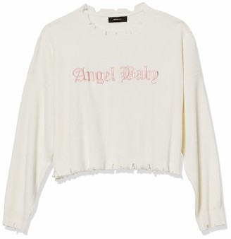 Forever 21 Women's Plus Size Angel Baby Sweater