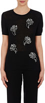 Prabal Gurung WOMEN'S SEQUIN SHORT-SLEEVE SWEATER