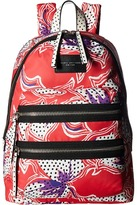 Marc Jacobs Spotted Lily Printed Biker Backpack Backpack Bags