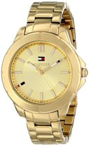 Tommy Hilfiger Women's 1781413 Gold-Tone Watch