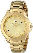 Tommy Hilfiger Women's 1781413 Gold-Tone Watch