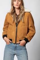 Zadig & Voltaire Lotta Reversible Shearling Jacket