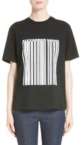 Alexander Wang Women's Barcode Graphic Tee