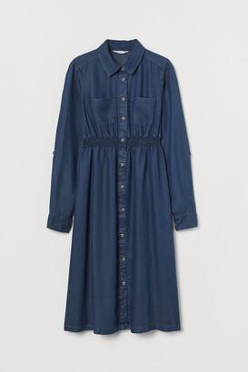 H&M MAMA Lyocell Shirt Dress