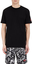 Hood by Air Men's Burnt-Moon-Graphic T-Shirt-BLACK