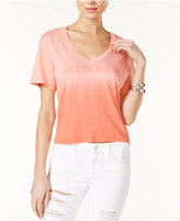 GUESS Cropped Ombré T-Shirt