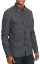 Kenneth Cole New York Mirrored Tri Print Woven Shirt