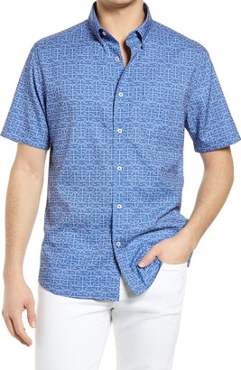 Southern Tide St Hooks Short Sleeve Button-Down Shirt