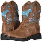 Roper Horse Flowers Cowboy Boots