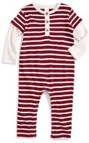 Nordstrom Infant Boy's Stripe Layered Romper