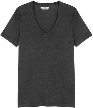 Etoile Isabel Marant Kranger Grey Linen T-shirt