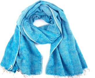 "Cool Trade Winds SUPER SOFT - SOFT AND COSY YAK"" SHAWL THE ORIGINAL OVERSIZED BLANKET SCARF: - a luxurious 190cm x 85cm in size (Navajo Turquoise)"