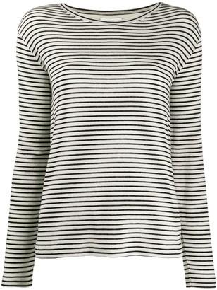 Vince stripe print T-shirt