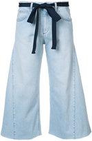 Sonia Rykiel wide leg cropped pants