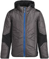 Pacific Trail Mixed Media Hatch Printed Jacket - Insulated (For Little Boys)