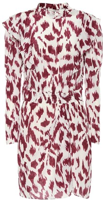 Etoile Isabel Marant Yoana printed silk dress