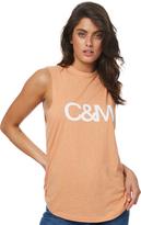 Camilla And Marc C & m Classic Logo Tank Orange
