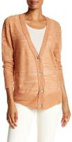 Brochu Walker Merill Linen Blend Slub Knit Cardigan