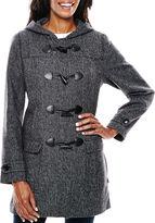 Liz Claiborne Wool-Blend Toggle Coat