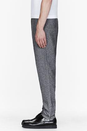 Diesel Black Gold Mottled Grey Drawstring trousers