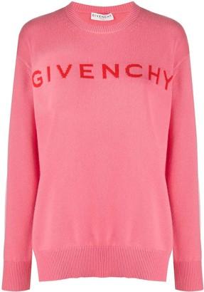 Givenchy Logo Cashmere Jumper