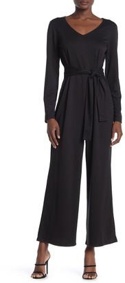 Velvet Heart Maurice Long Sleeve Wide Leg Jumpsuit