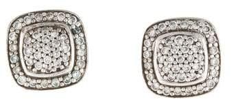 David Yurman Diamond Petite Albion Stud Earrings