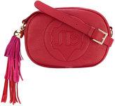 Sara Battaglia oval crossbody bag - women - Calf Leather - One Size