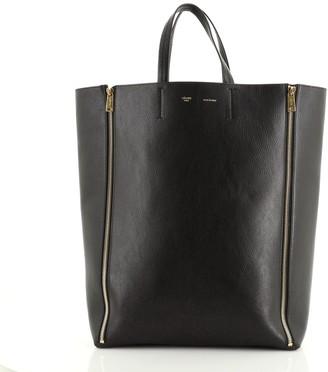 Celine Vertical Gusset Cabas Tote Leather Large