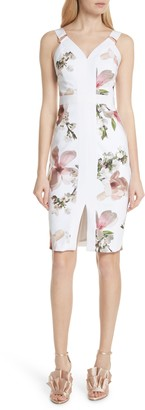 Ted Baker Irasela Floral Bodycon Dress