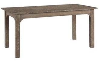 Laurel Foundry Modern Farmhouse Steve Rubber Solid Wood Dining Table