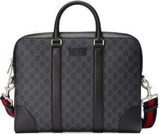 Gucci GG Black briefcase