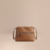 Burberry The Mini Crush in Grainy Leather