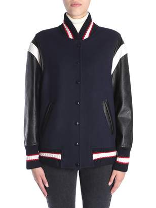 Stella McCartney Oversize Fit Bomber Jacket