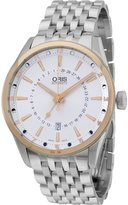 Oris Tone Stainless Steel Men's Watch 76176916331MB