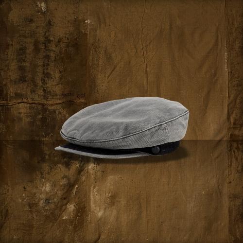 Denim & Supply Ralph Lauren Faded Denim Captain's Hat