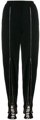 Stella McCartney Logo Band Zipped Trousers