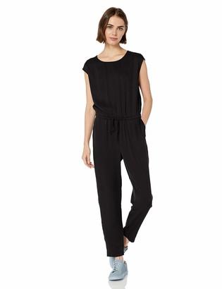 Daily Ritual Amazon Brand Women's Tencel Short-Sleeve Jumpsuit