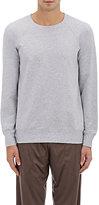 Zimmerli Men's Cotton-Blend Raglan Sweatshirt-LIGHT GREY, SILVER
