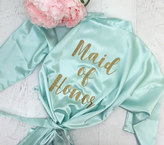 Etsy Personalized Robe / Glitter Bridesmaid Robe / Bridal Robes / Wedding Satin Robes / CL SOL
