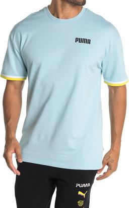 Puma Celebration Short Sleeve Sweatshirt