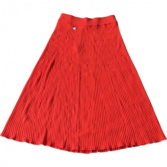 Courreges \N Orange Cotton Skirt for Women