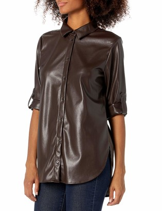 Calvin Klein Women's PU BOYFRND Tunic