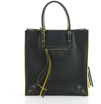 Balenciaga Papier A5 Zip Around Classic Studs Bag Leather