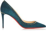 Christian Louboutin Anjalina 85mm suede pumps