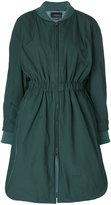 Isabel Marant 'Deimos' long bomber coat - women - Cotton/Polyester/Spandex/Elastane/Polyimide - 36